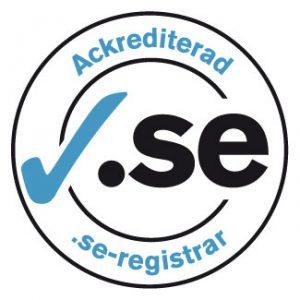 Ackrediterad .se-registrar